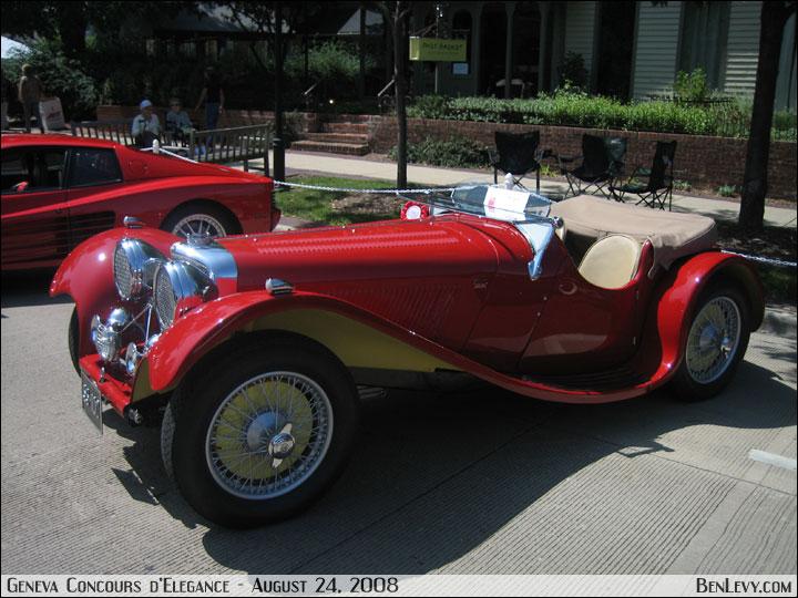 1939 Jaguar Ss100 Benlevy Com