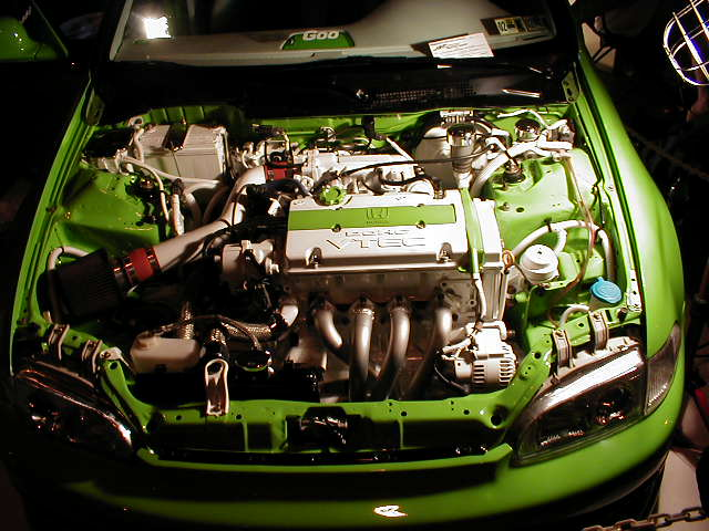 New Honda Civic >> Clean Civic Engine Bay - BenLevy.com