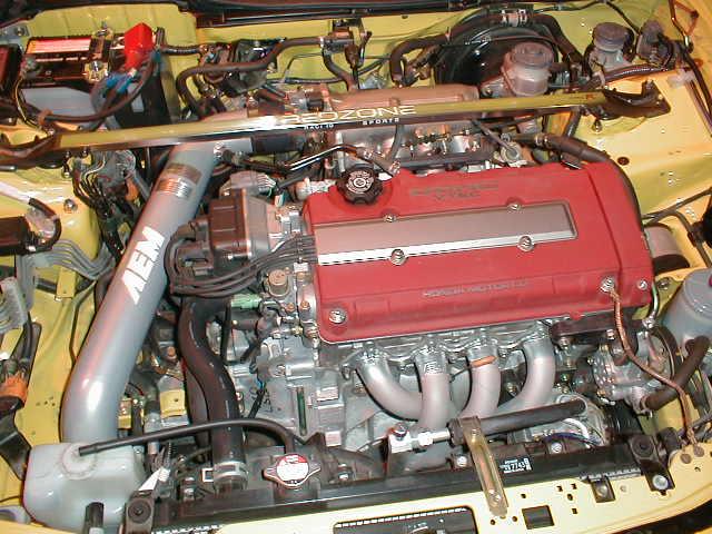 Integra TypeR Engine Bay BenLevycom - Acura integra type r engine