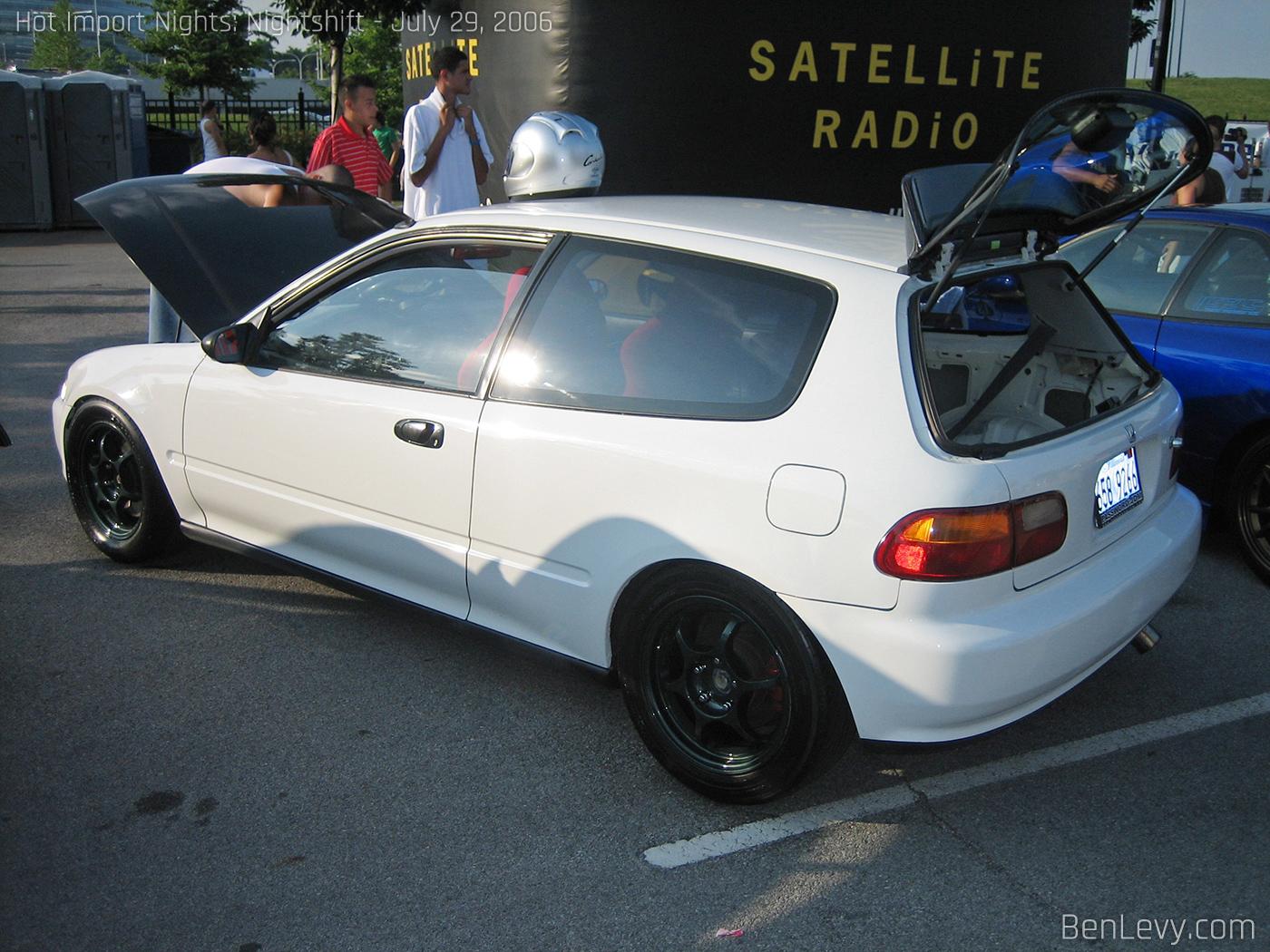 Honda Civic Hatchback Eg