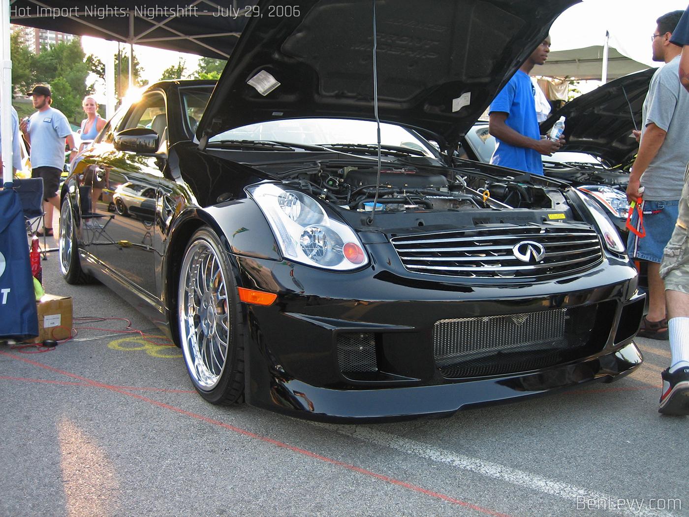 Black Infiniti G35 Coupe  BenLevycom