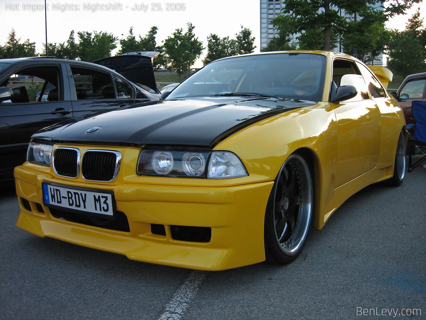 Wide-body E36 BMW M3 - BenLevy.com