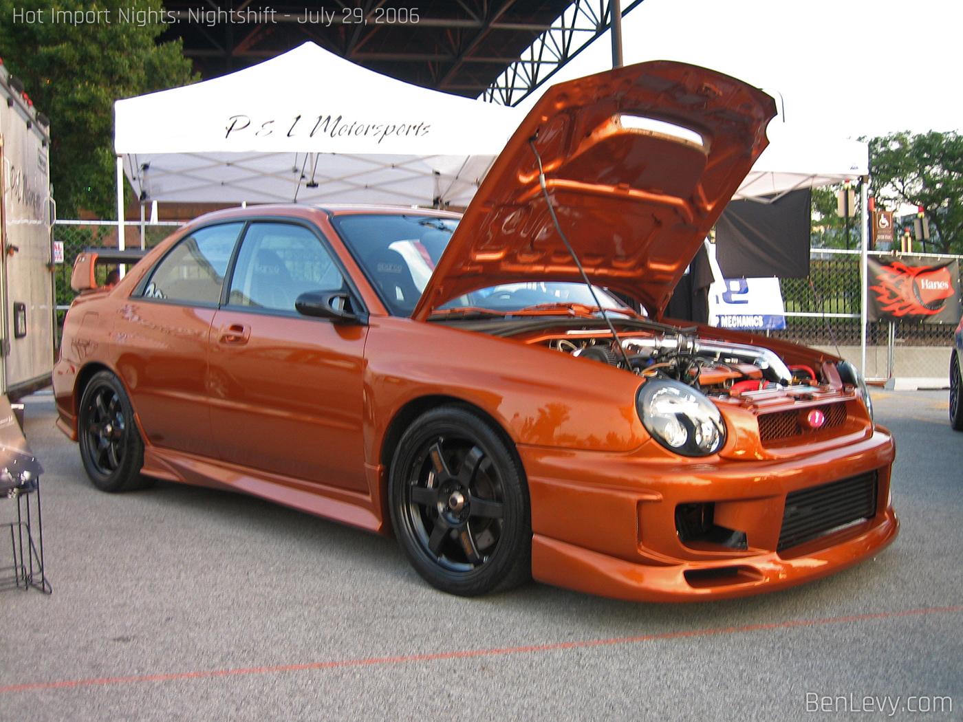 Hyundai >> Orange Subaru WRX - BenLevy.com
