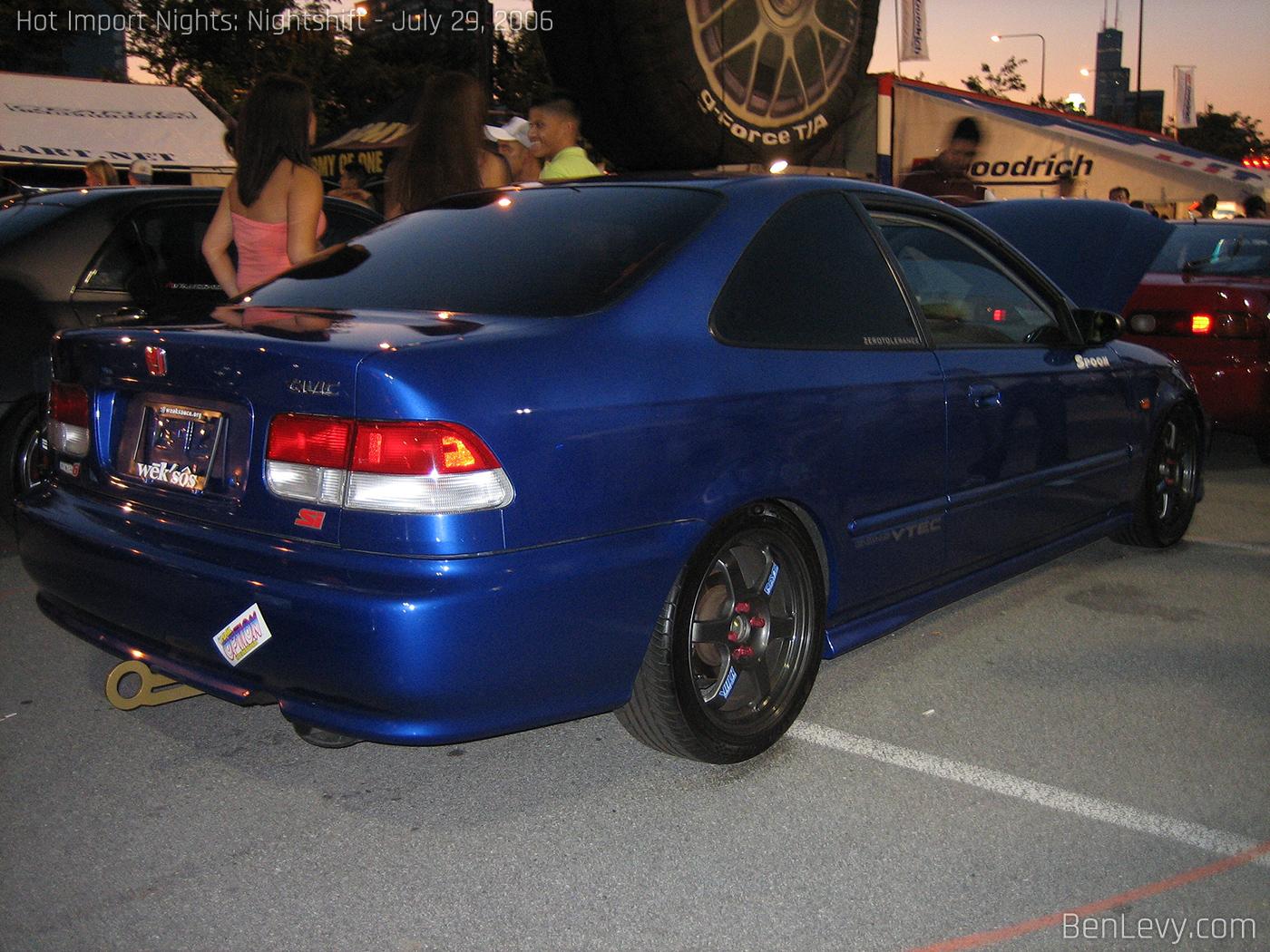 Cars Com Chicago >> Electron Blue Civic Si - BenLevy.com