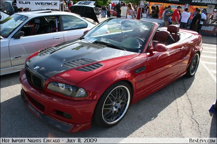 Red M3 Convertible Benlevy Com