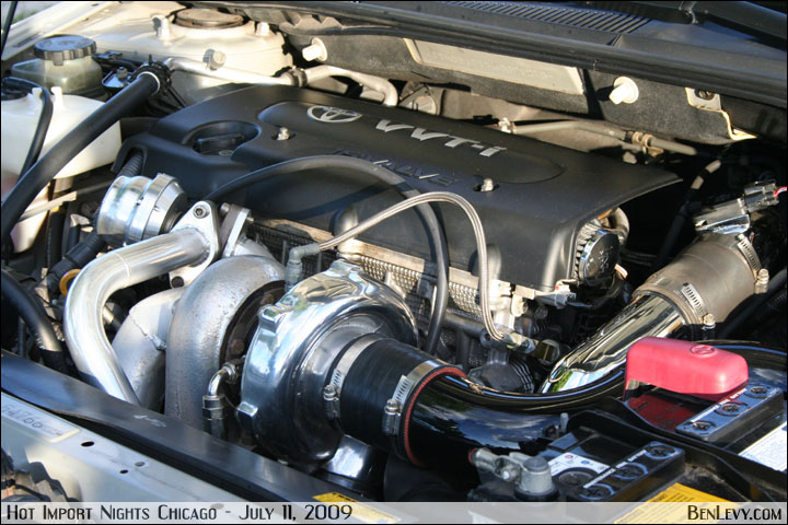 Big Turbo on Scion tC's 2AZ-FE - BenLevy.com