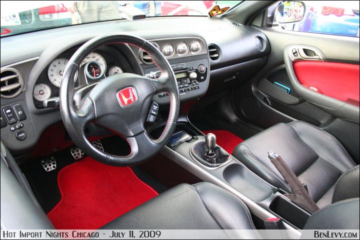 New Honda Civic >> Honda Integra-styled interior - BenLevy.com