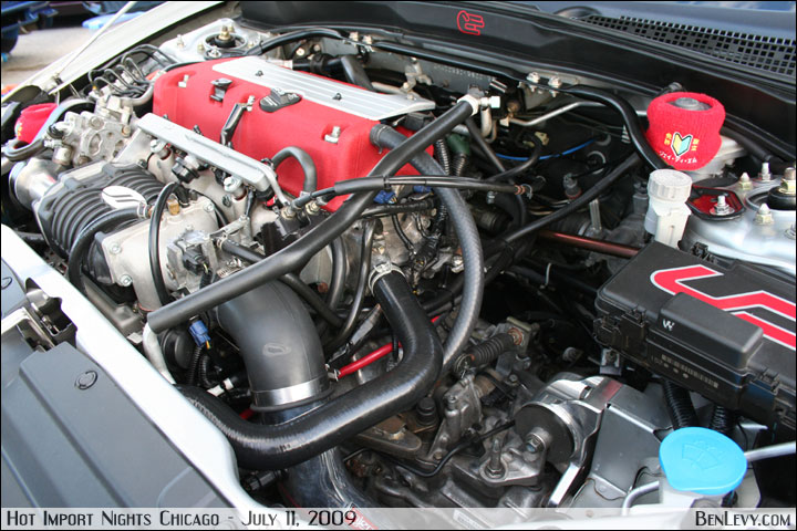 K With Jackson Racing Supercharger In An Acura RSX BenLevycom - Acura rsx supercharger