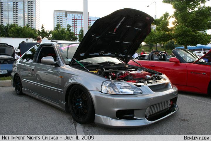Turbo EJ8 Honda Civic Coupe - BenLevy.com