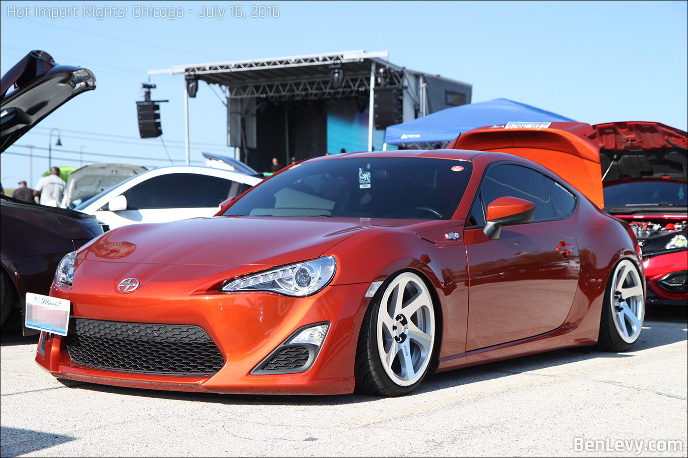 Burnt Orange Scion Fr S Benlevy Com