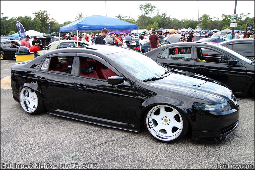 Black Acura TL