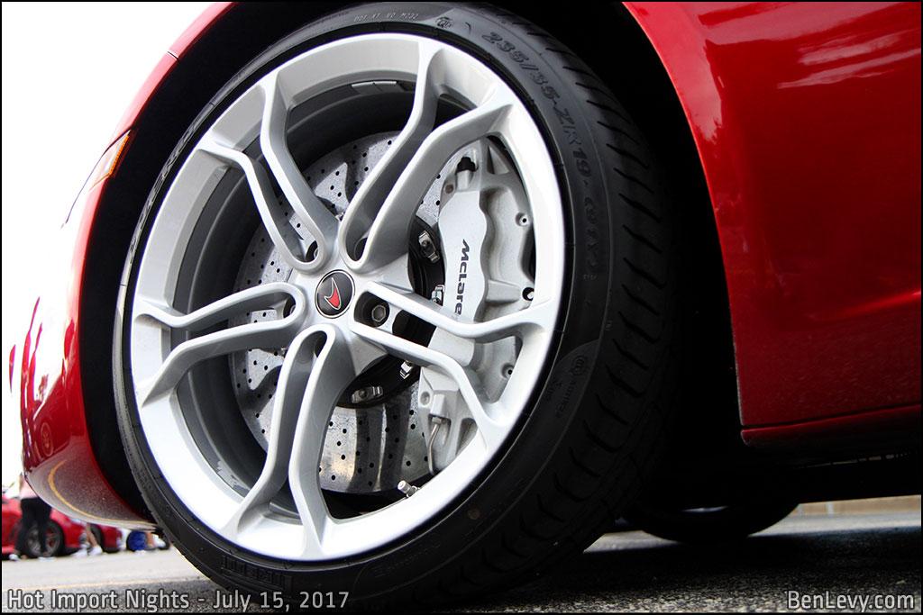 McLaren 12C 5 spoke Wheel