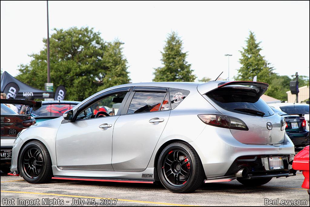 Silver Mazdaspeed3