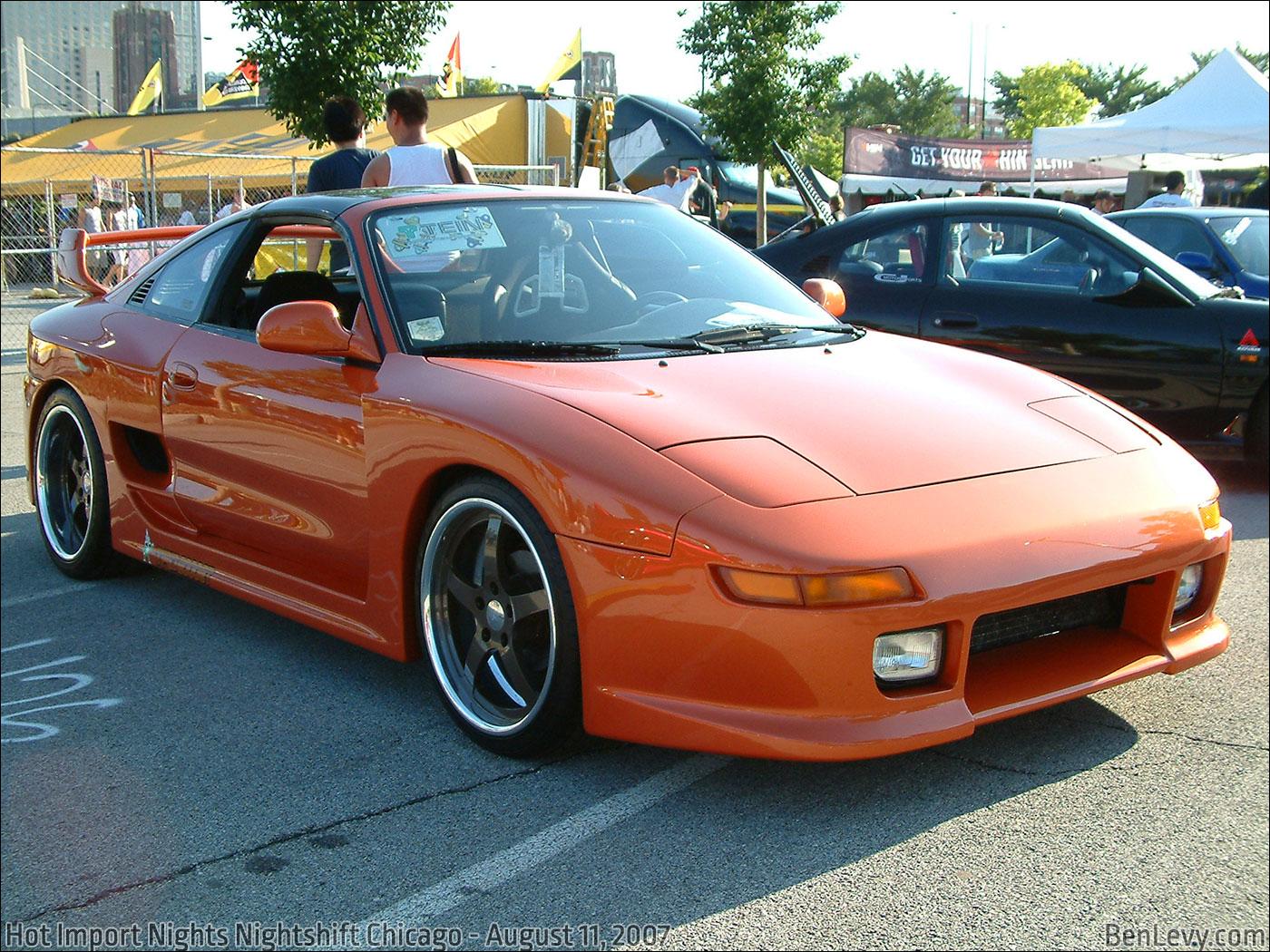 Orange Toyota MR2 BenLevy