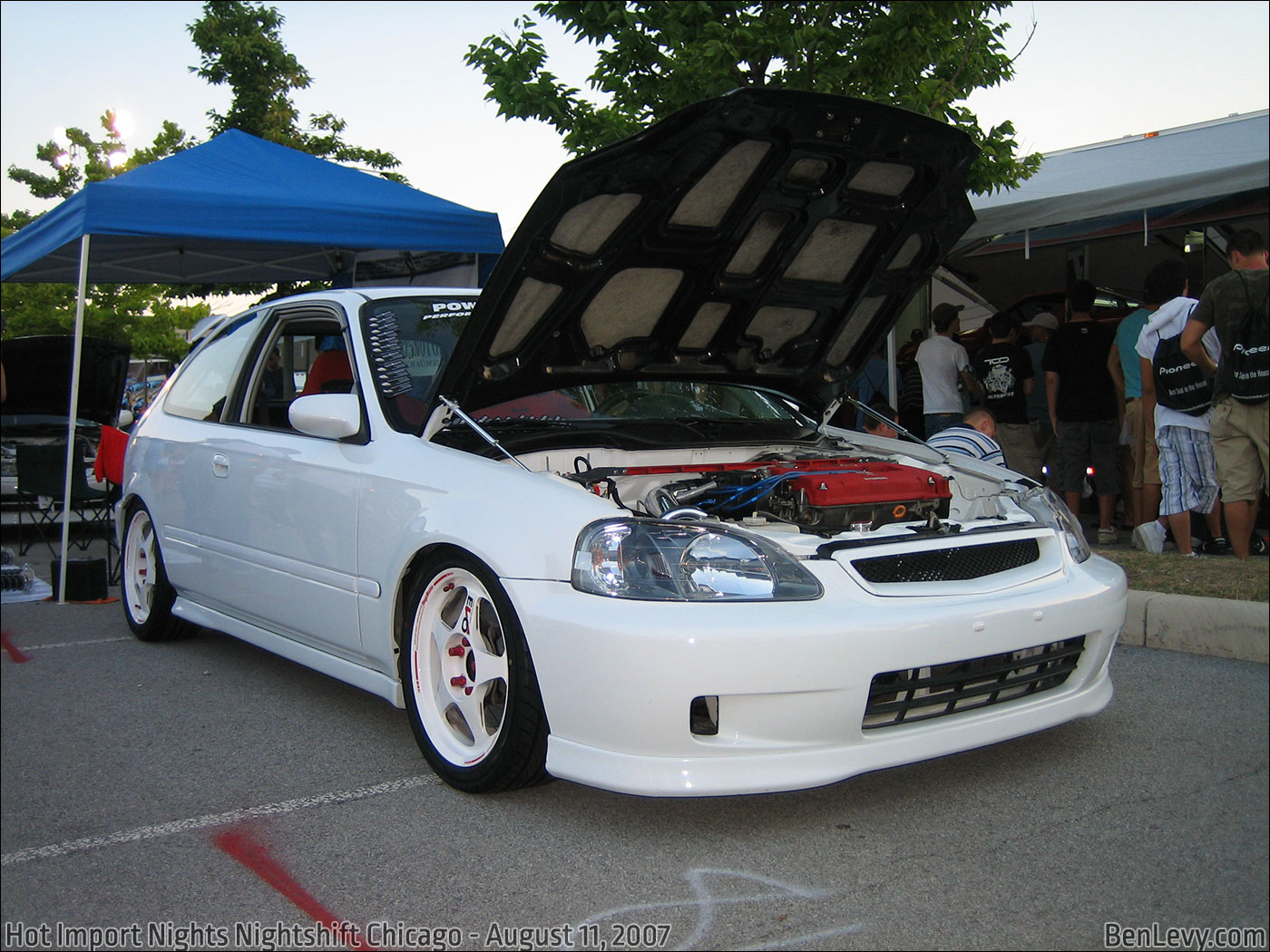 White Civic Hatchback Benlevy Com