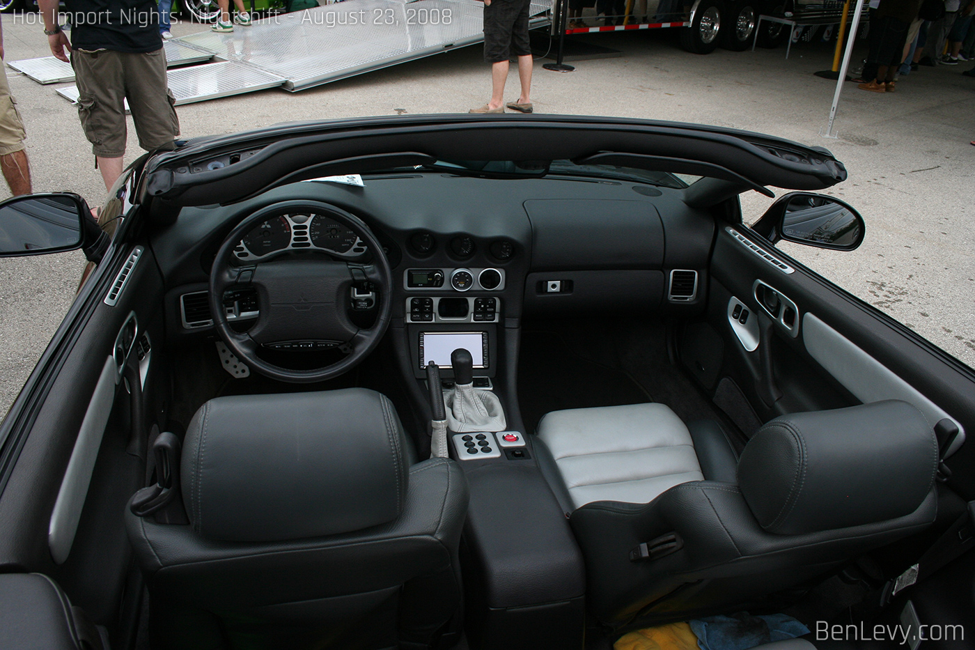 3000GT Spyder Interior - BenLevy.com