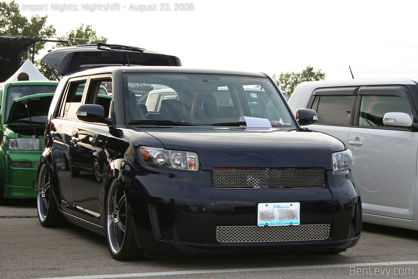 Scion xB with custom grill - BenLevy.com