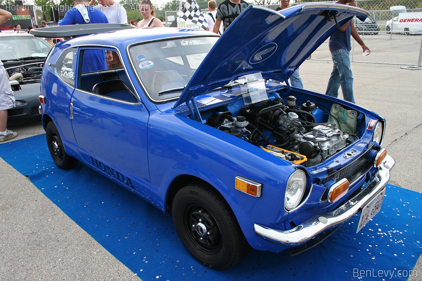 Blue Honda Cvcc Benlevy Com