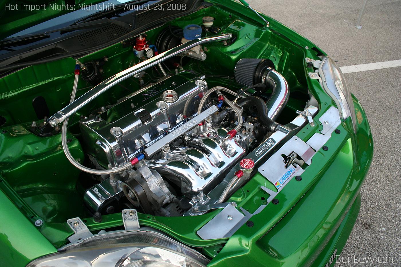 K-series engine in EK hatchback - BenLevy com