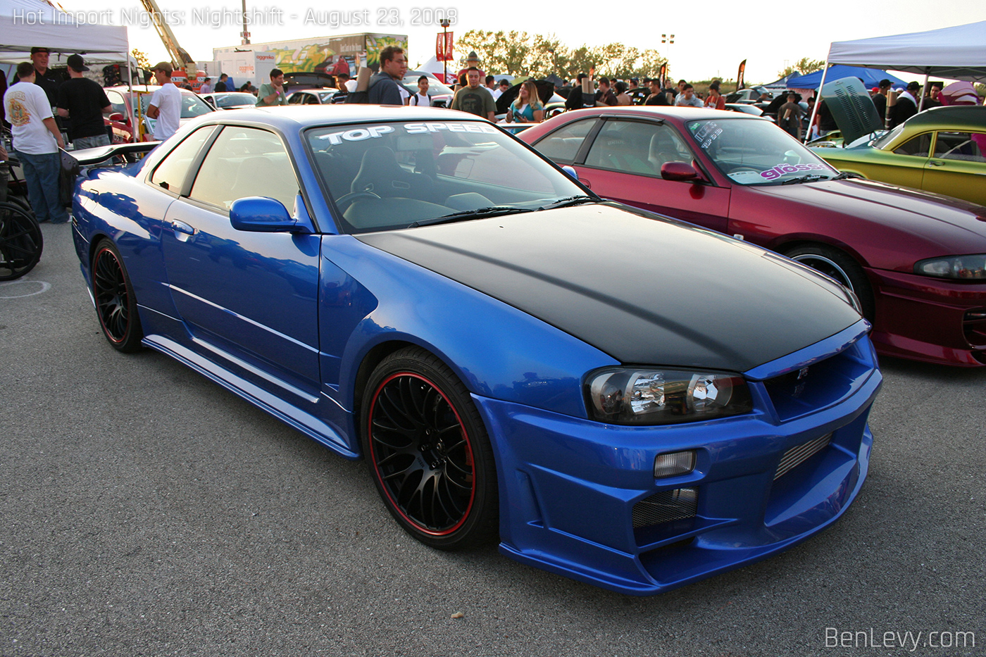 Top Speed Nissan Skyline GT R