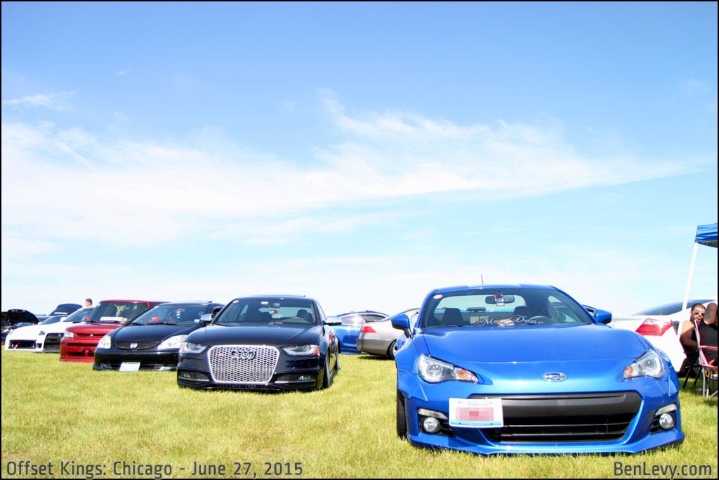 Cars at Offset Kings