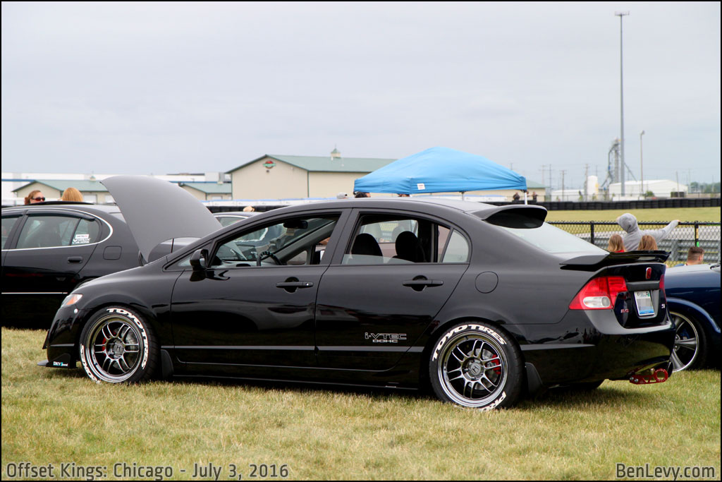 Black Honda Civic Si Sedan Benlevy Com
