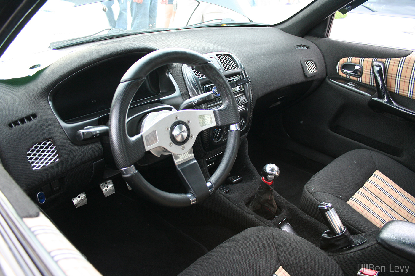 custom interior in mazda protege. Black Bedroom Furniture Sets. Home Design Ideas