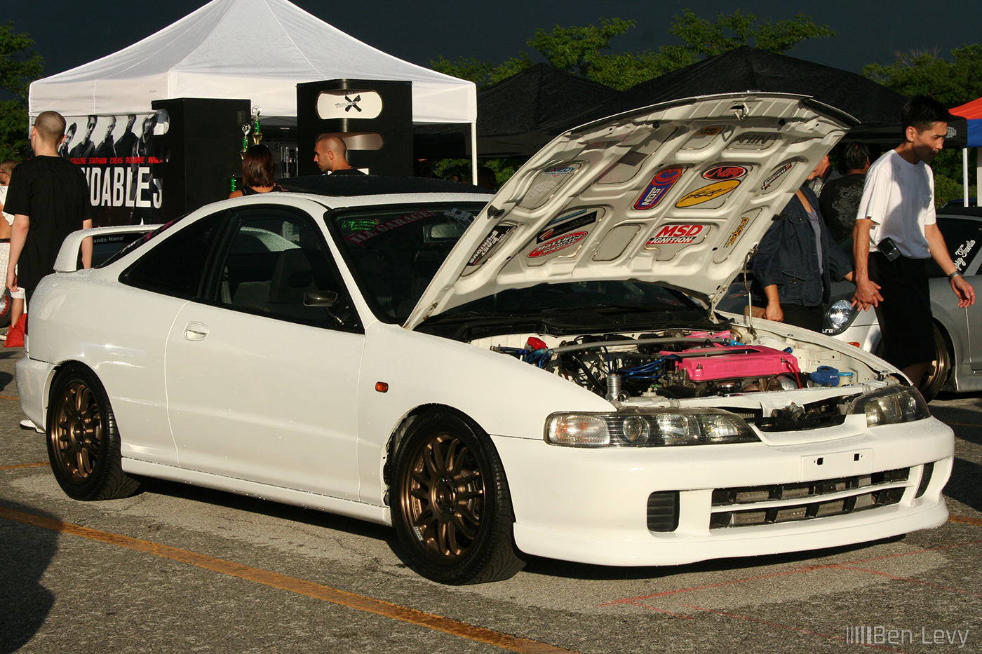 Turbo Integra With Jdm Front Benlevy Com