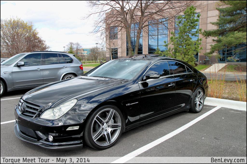 Black Mercedes Benz Cls55 Amg Benlevy Com