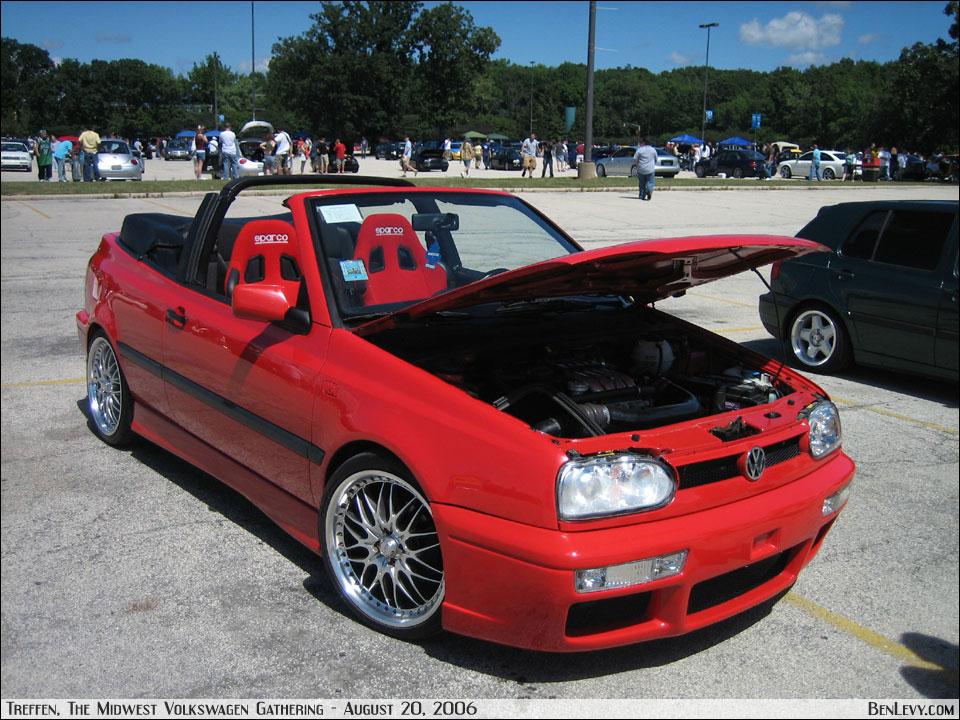 Red VW Cabrio - BenLevy.com
