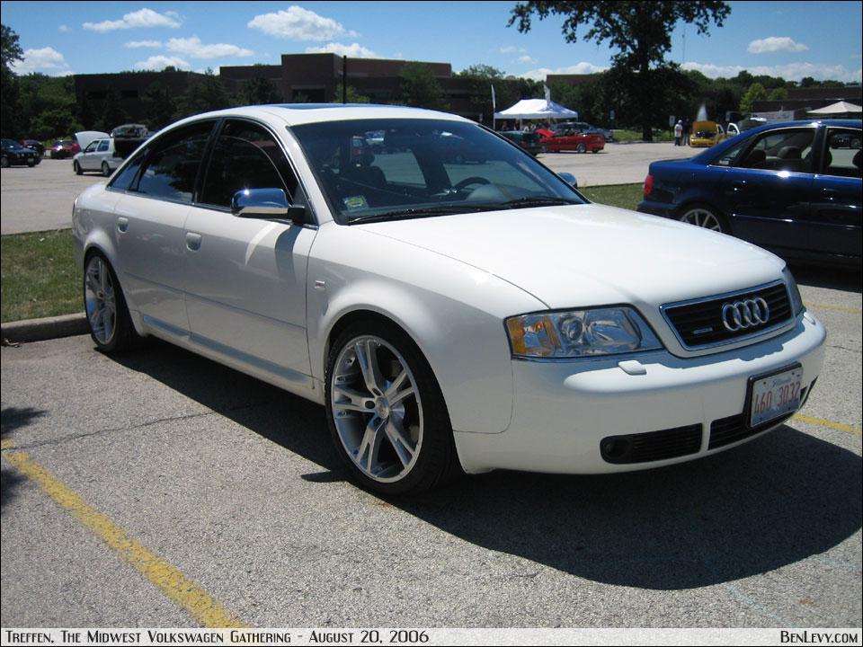 White Audi A6