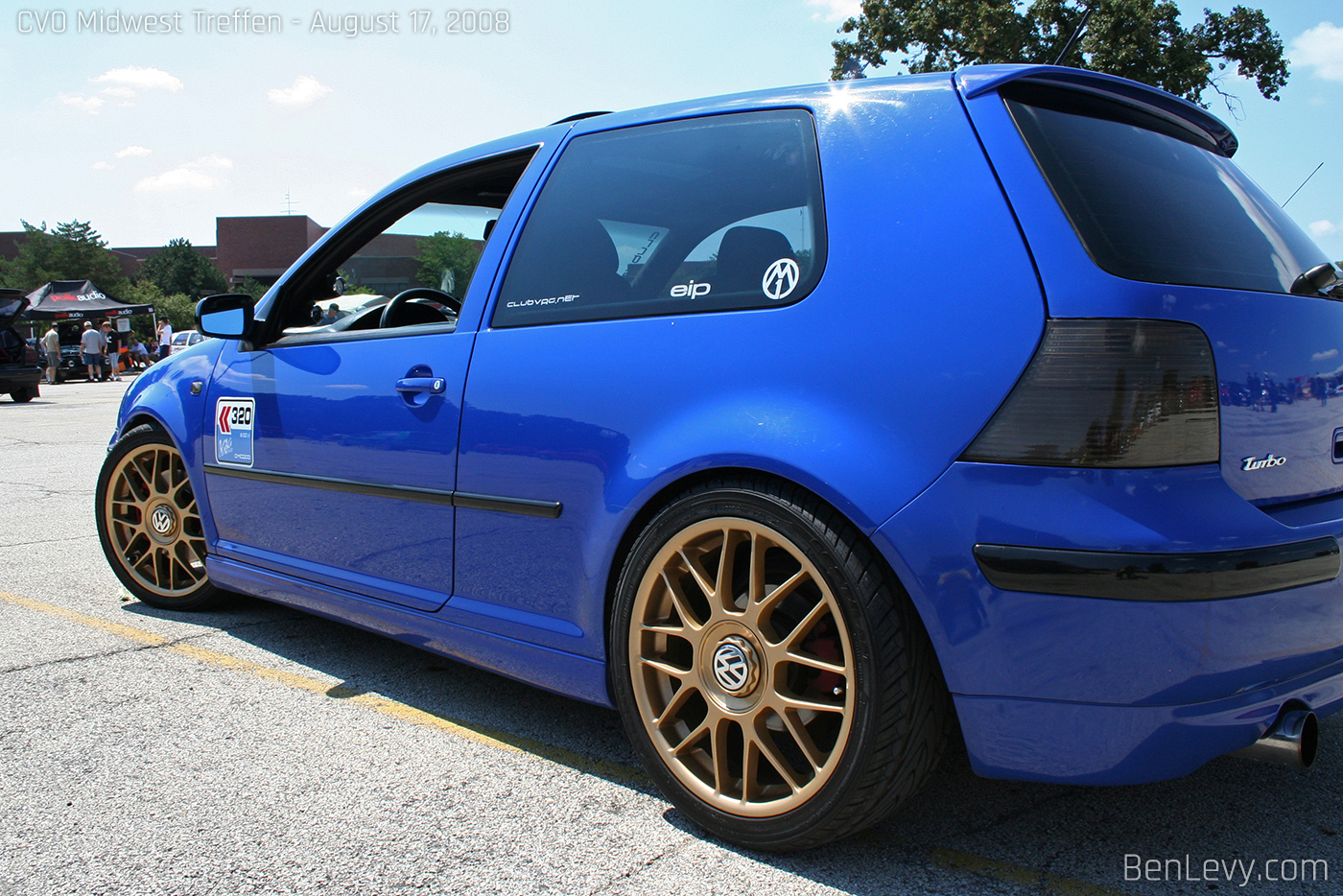Vw Gti With Gold Bbs Rc Wheels Benlevy Com