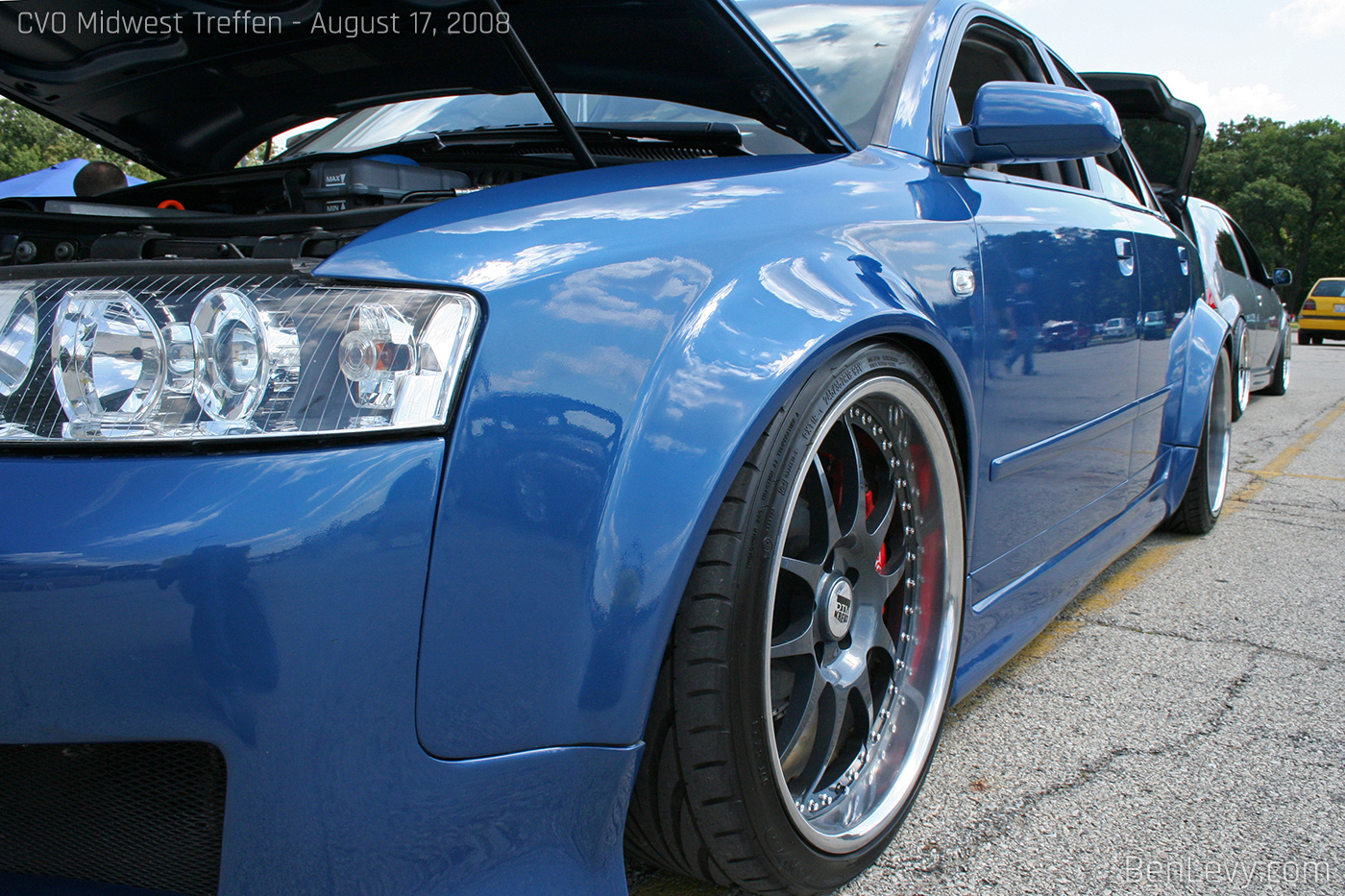 Wide Fenders On An Audi A4 Benlevy Com