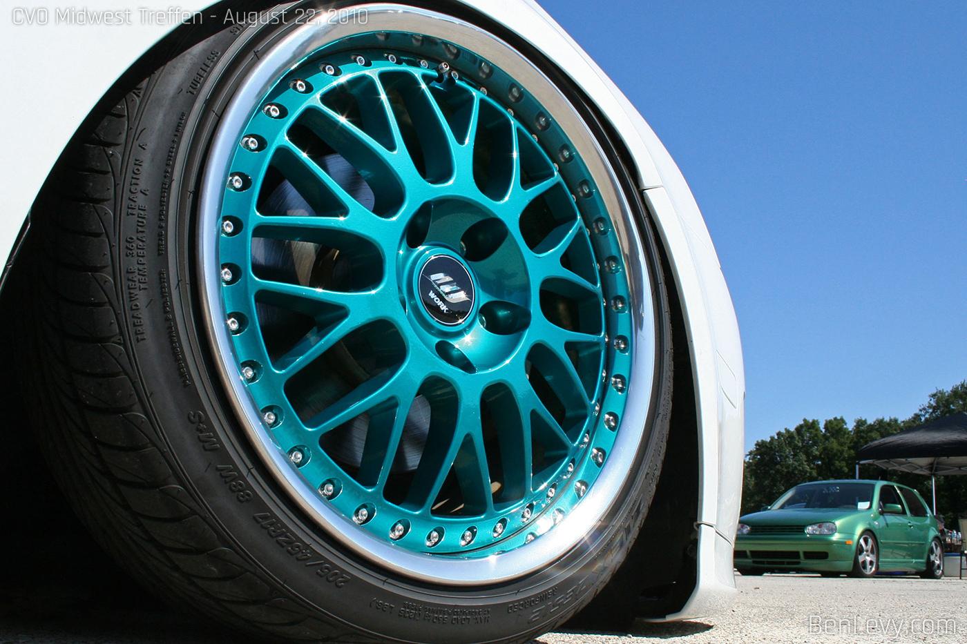 WORK VSXX Wheel