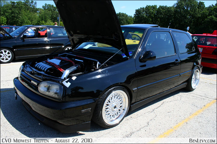 Black Gti With Turbo Vr6 Engine Benlevy Com