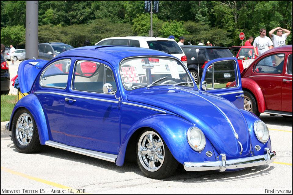 Blue Volkswagen Beetle Benlevy Com