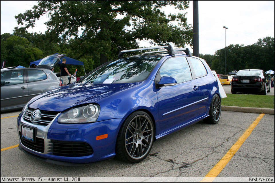 Volkswagen R32 With Vmw Vb3 Wheels Benlevy Com