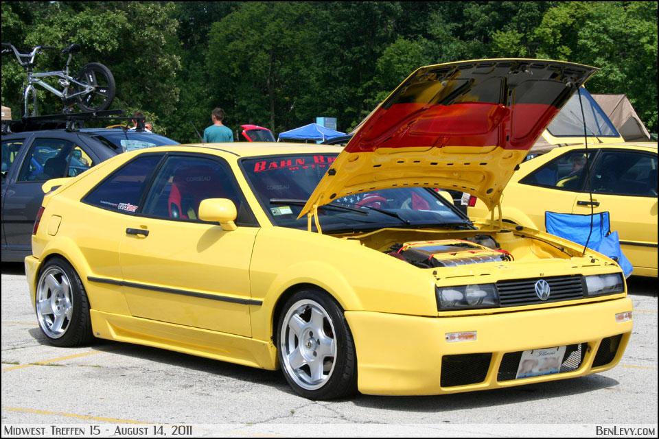 Yellow Vw Corrado Benlevy Com
