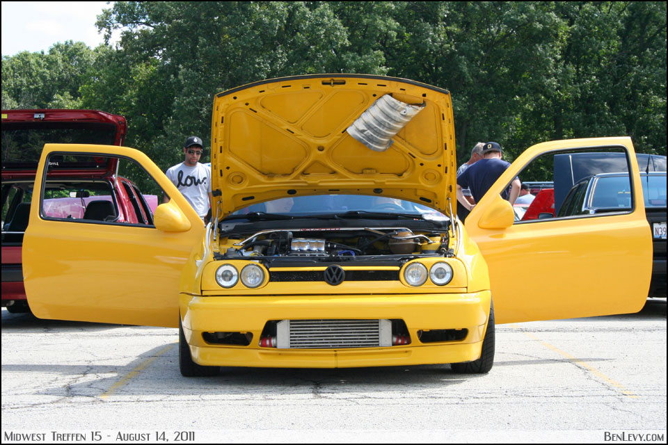 Modified Yellow Mk3 Gti Benlevy Com