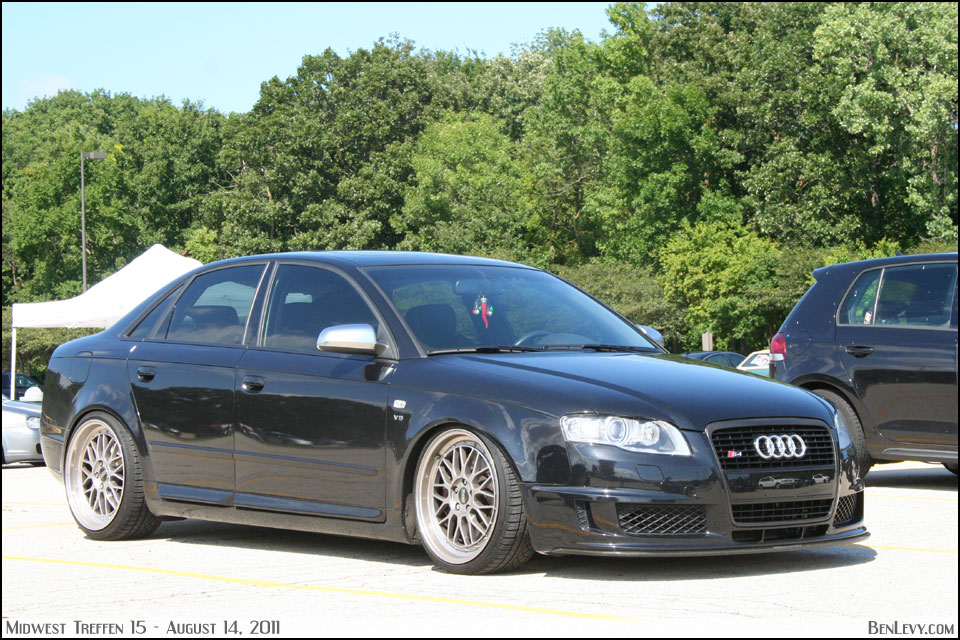Black Audi S4 With Aggressive Stance Benlevy Com