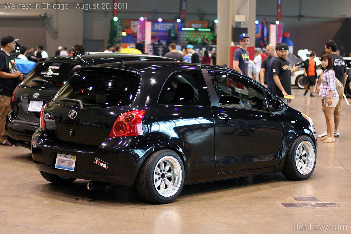Toyota Yaris With Vitz Tail Lights Benlevy Com