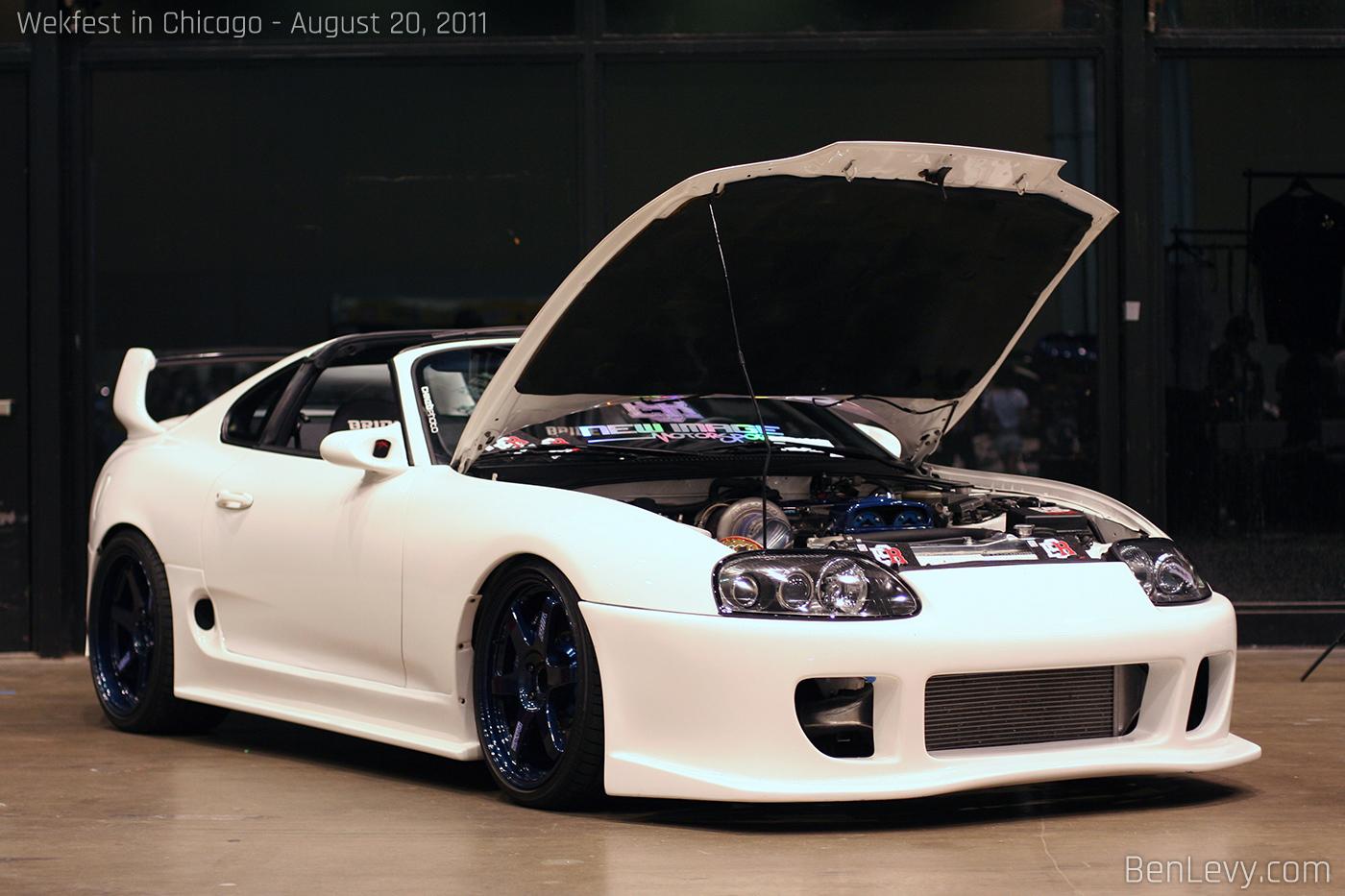 Toyota Supra 2018 >> White Toyota Supra - BenLevy.com