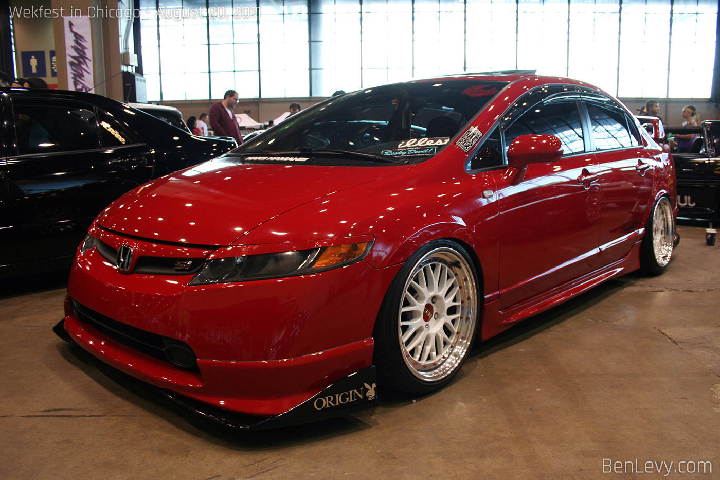 honda civic si coupe red