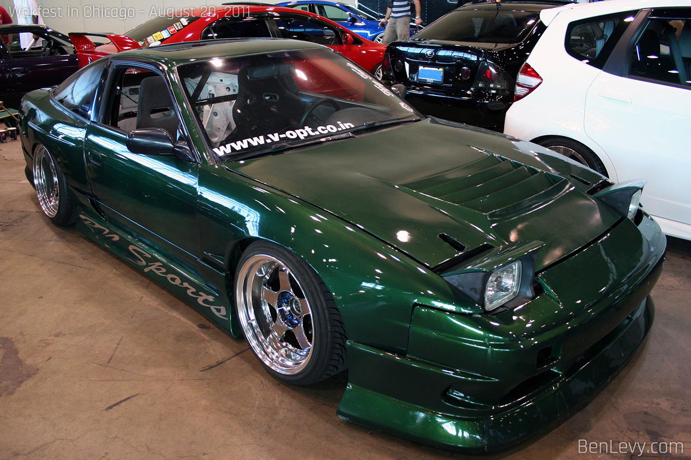Green Nissan 240sx Benlevy Com