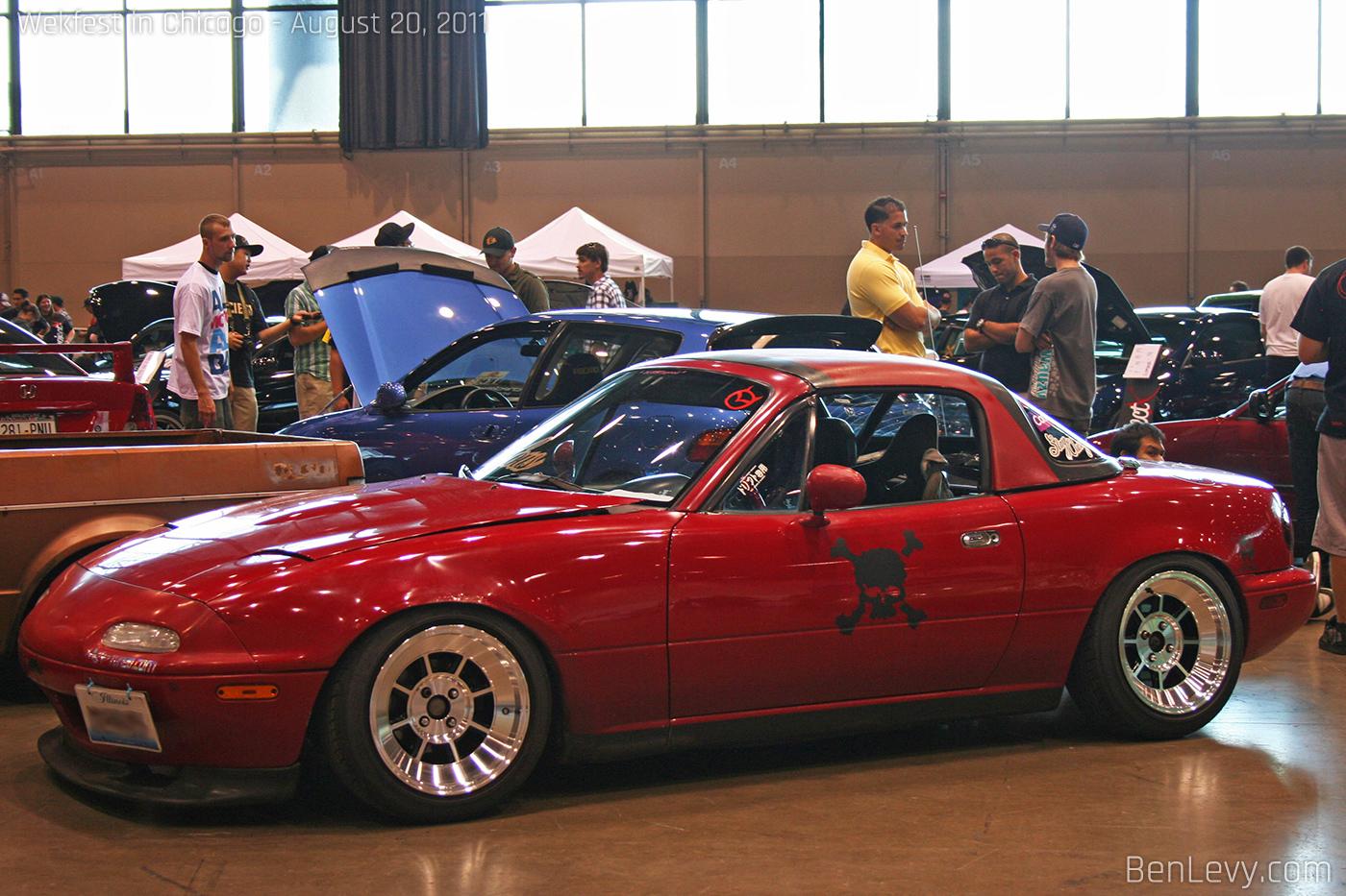 Mazda Miata With Hardtop Benlevy Com