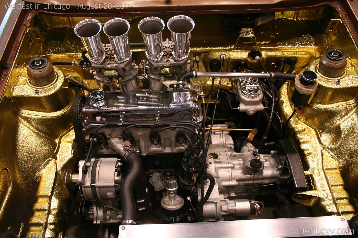 Cars Com Chicago >> Gold Engine Bay - BenLevy.com