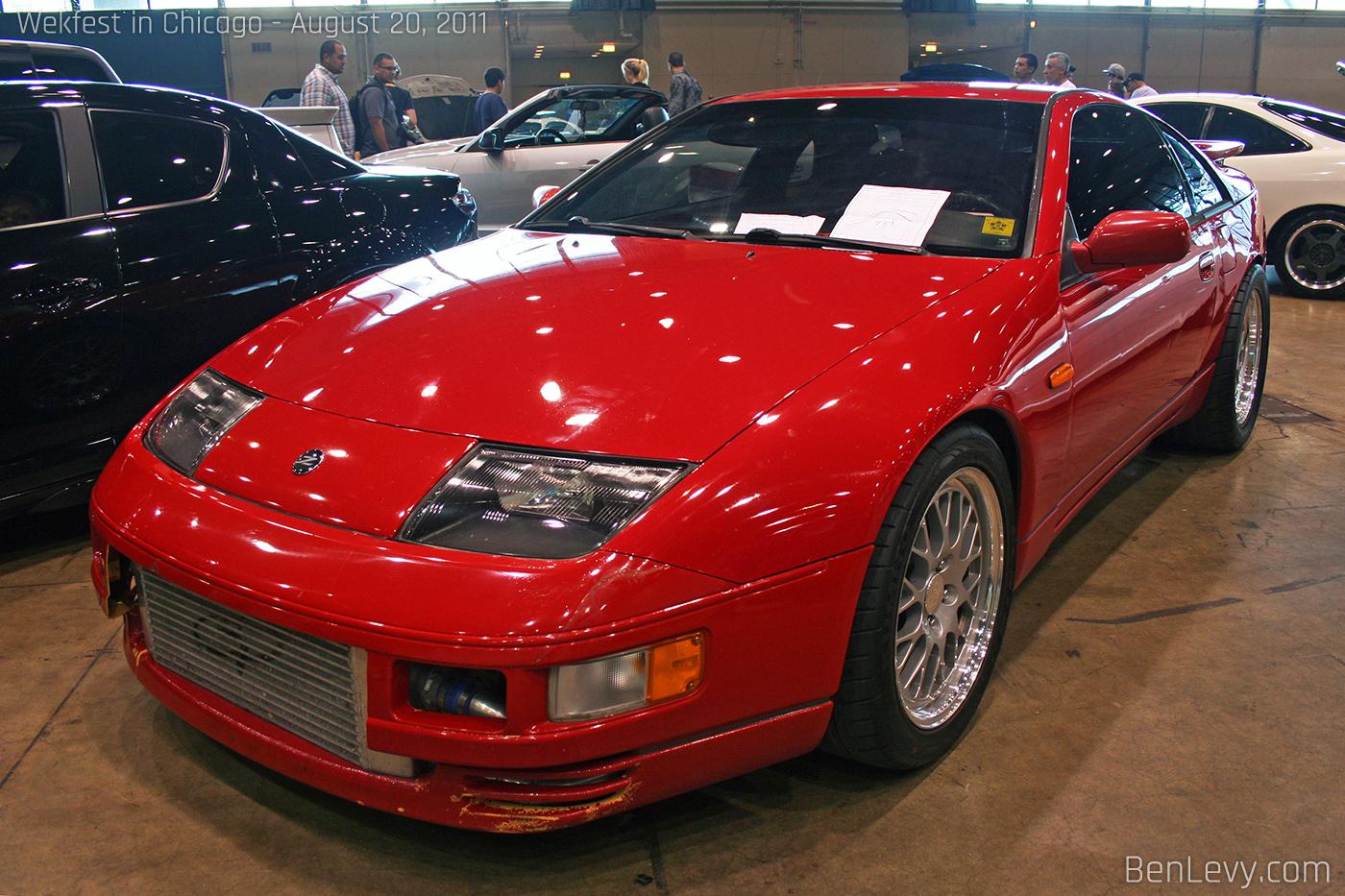 Red Nissan 300zx Tt Benlevy Com