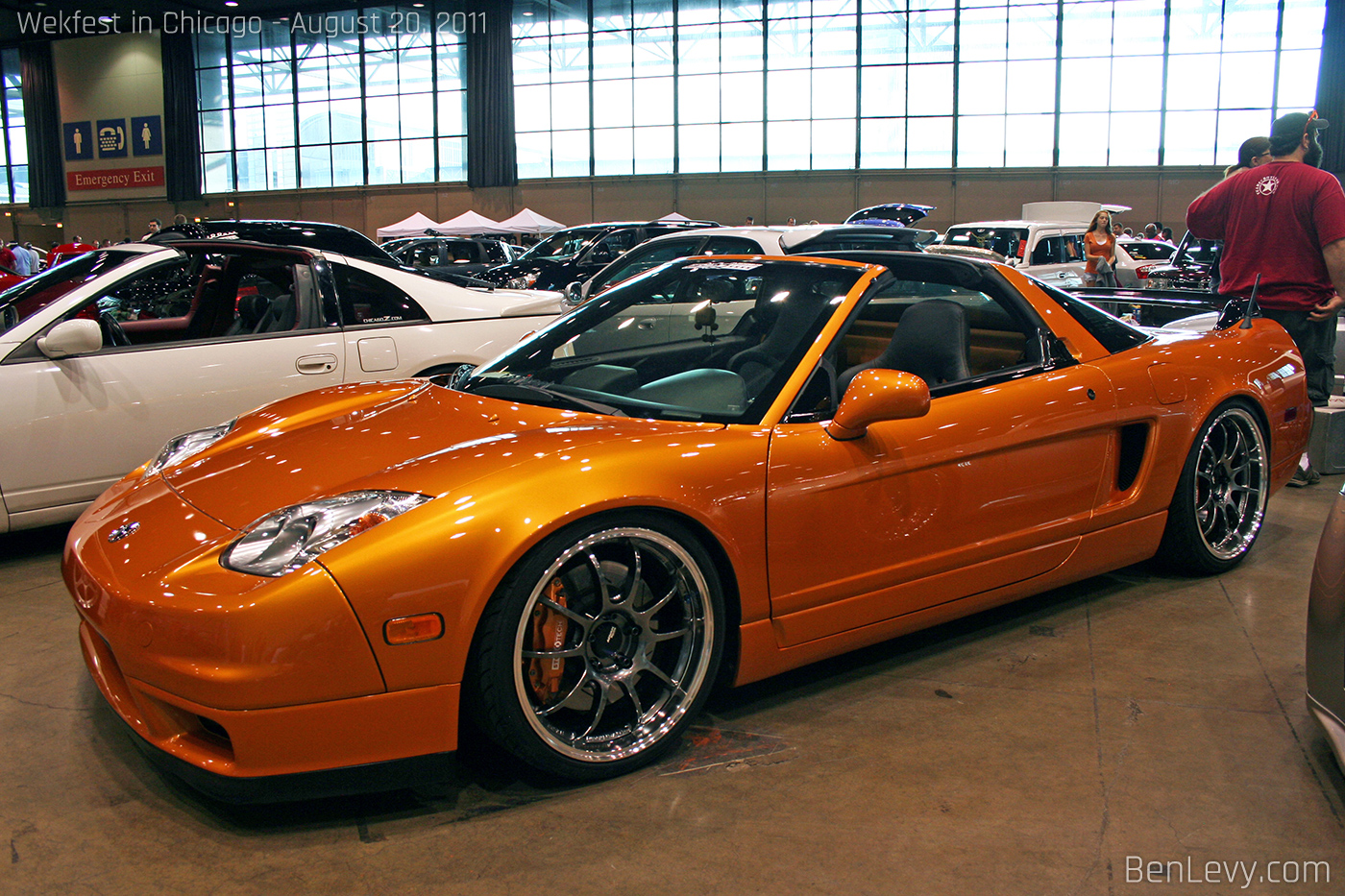 Acura Nsx In Imola Orange Pearl Benlevy Com