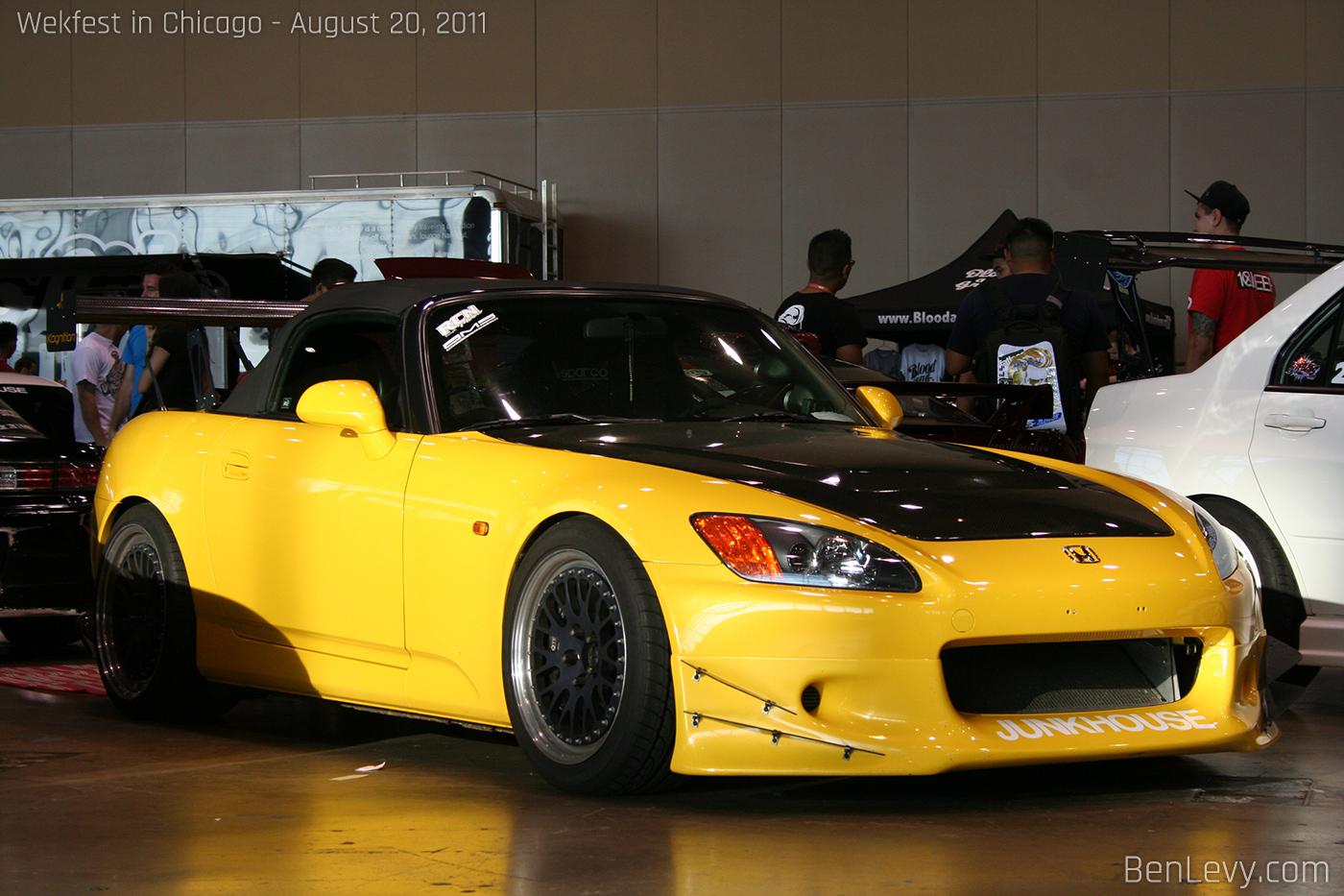 Yellow Honda S2000 Benlevy Com