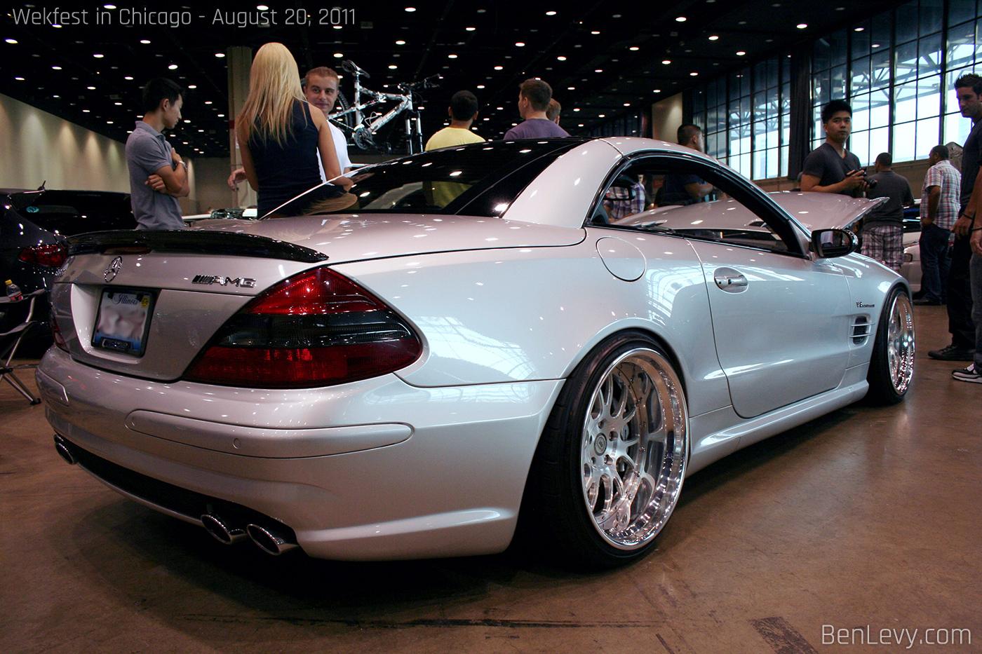 Mercedes Benz Sl55 Amg Benlevy Com